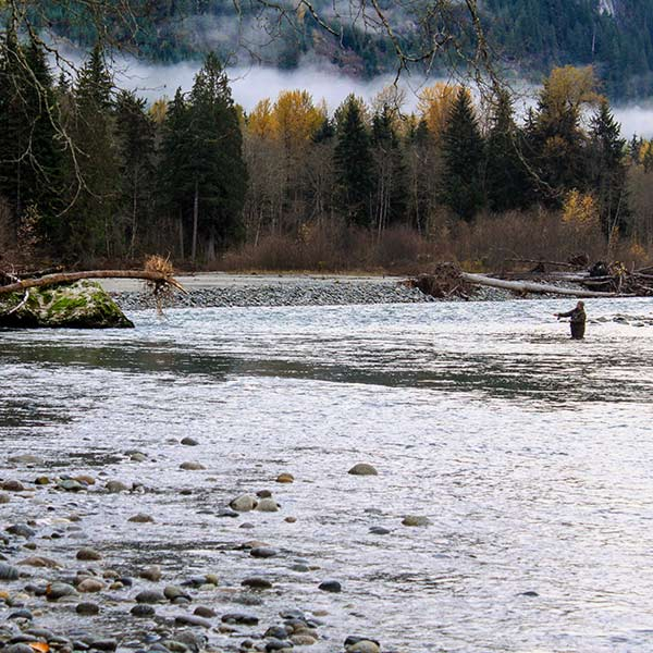 Fishing on the Squamish
