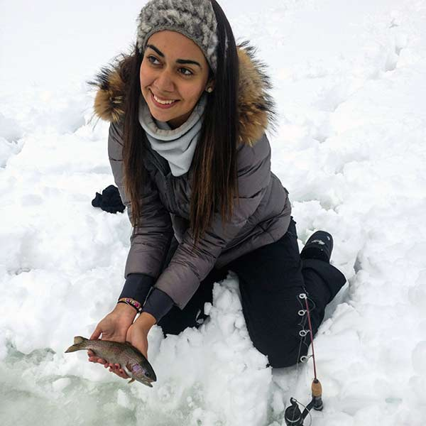Ice Fishing in Whistler