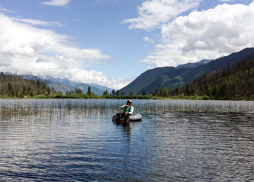 Lake Fishing in Whistler