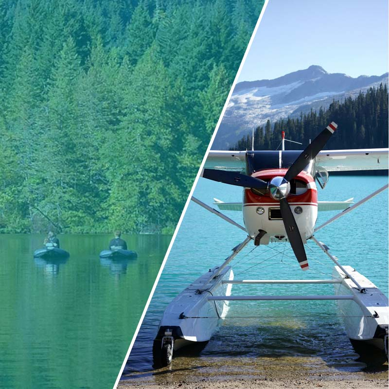 floatplane fishing charter trips