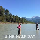 5 Hour Half Day Fishing Trips